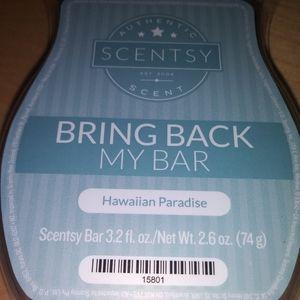 2 Scentsy Wax Bar Hawaiian Paradise